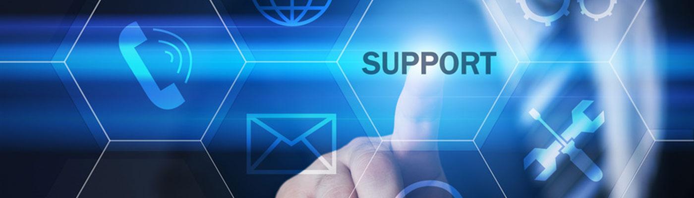 שירות ותמיכה על ידי צוותים מקצועיים